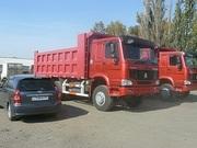 Продаём самосвалы -Хово,  Howo в Омске ,  6х4 25 тонн ,  2300000 руб в наличии.