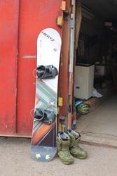 Продам Сноубордический комплект Atom