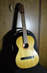 Гитара фабрики Луначарского