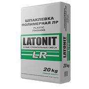 Шпатлёвка полимерная финишная 20кг. белая (LATONIT LR)