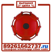 Колпаки колёсные 22.5 задние пластик красные в Москве