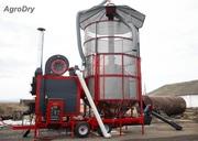 Зерносушилка на угле/пеллетах - AgroDry TKM-33SF.Саратов