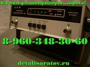Радиоприборы СССР: частотомер,  вольтметр,  осциллограф,  платы.